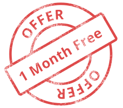 Offered extended month on yearly subscription