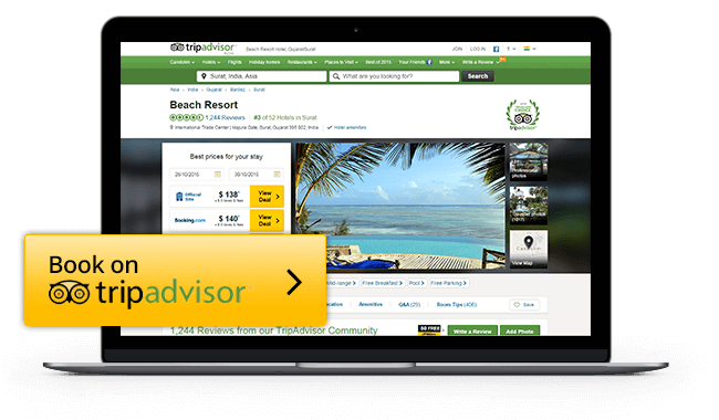 eZee's exclusive connection with TripAdvisor